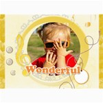 wonderful - 5  x 7  Photo Cards