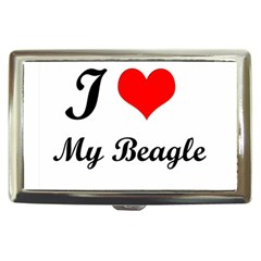 I Love My Beagle Cigarette Money Case by free