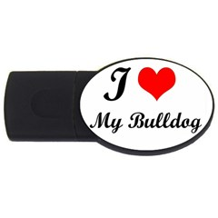 I Love My Beagle Usb Flash Drive Oval (2 Gb) by free