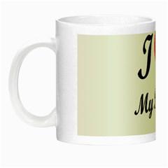 I Love My Beagle Night Luminous Mug