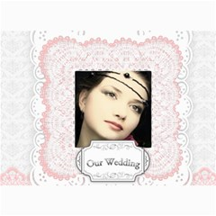 Our Wedding By Joely   5  X 7  Photo Cards   30okko6v8qav   Www Artscow Com 7 x5 Photo Card - 5