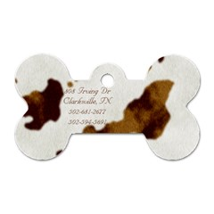 Pupcake Tag 2 By Brittany   Dog Tag Bone (two Sides)   A5ma3glp9vht   Www Artscow Com Back