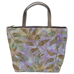 Batik Leaves Bucket Bag By Bags n Brellas   Bucket Bag   A1j45dl7t624   Www Artscow Com Front