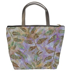 Batik Leaves Bucket Bag By Bags n Brellas   Bucket Bag   A1j45dl7t624   Www Artscow Com Back