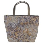 batik leaves small bucket bag