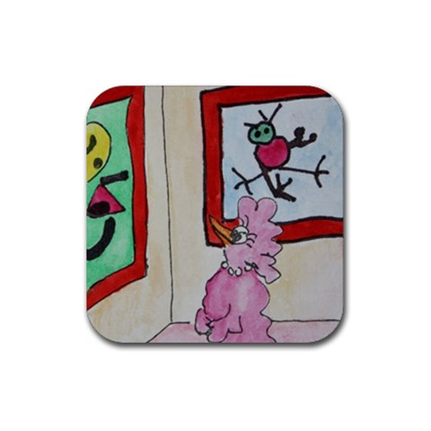 Coaster 7 By Trine   Rubber Coaster (square)   Ogakp7ixj77a   Www Artscow Com Front