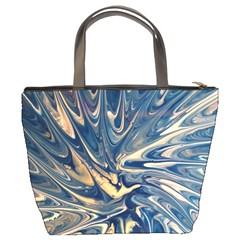 Blue Burst Bucket Bag By Bags n Brellas   Bucket Bag   2aiuuubwqso6   Www Artscow Com Back