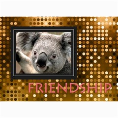 Friendship By Clince   5  X 7  Photo Cards   6yfhju1lpqfg   Www Artscow Com 7 x5 Photo Card - 1