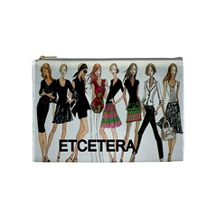 Etc Cosmetic Bag By Lori Cronican   Cosmetic Bag (medium)   Zzumtjzins7g   Www Artscow Com Front