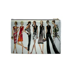Etc Cosmetic Bag By Lori Cronican   Cosmetic Bag (medium)   Zzumtjzins7g   Www Artscow Com Back