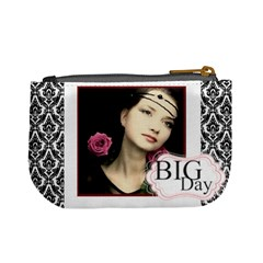 Big Day By Joely   Mini Coin Purse   Ilyusrtu9n7i   Www Artscow Com Back