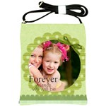 forever friends we will be - Shoulder Sling Bag
