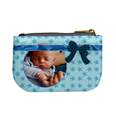 Baby Blue Mini Coin Purse By Lil    Mini Coin Purse   Rj0v5w4bdg9v   Www Artscow Com Back