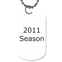 Freestyle Dog Tags By Michele   Dog Tag (two Sides)   Ago7gjfg98zi   Www Artscow Com Back