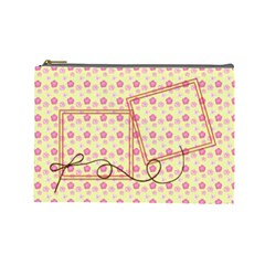 Spring Cosmetic Bag (l) By Elena Petrova   Cosmetic Bag (large)   P4xx011nzqi4   Www Artscow Com Front