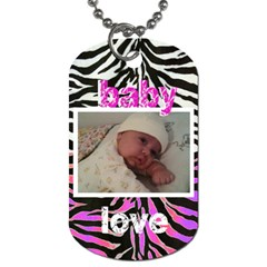 Cre By Sherry Kitchen   Dog Tag (two Sides)   Stpy3acss638   Www Artscow Com Front
