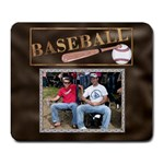 Baseball Large Mousepad