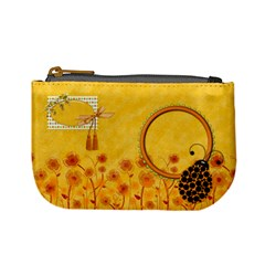 Miss Ladybugs Garden Coin Bag 2 By Lisa Minor   Mini Coin Purse   1rwsp23jpy88   Www Artscow Com Front