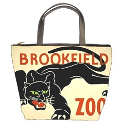 Zoo Poster Bucket Bag By Bags n Brellas   Bucket Bag   W1vlba745p3e   Www Artscow Com Front
