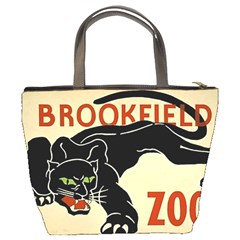 Zoo Poster Bucket Bag By Bags n Brellas   Bucket Bag   W1vlba745p3e   Www Artscow Com Back