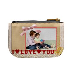 I Love You By Joely   Mini Coin Purse   Np13amr7x7yz   Www Artscow Com Back