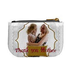 Mothers Day By Joely   Mini Coin Purse   5n7vmdwt9od8   Www Artscow Com Back