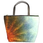 colored star burst2 bucket bag