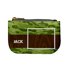 Camo Mini Coin Purse By Mikki   Mini Coin Purse   62bmazaib2sw   Www Artscow Com Front