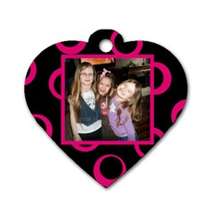 Melody Necklace By Jolene   Dog Tag Heart (two Sides)   Ow69336upk34   Www Artscow Com Front