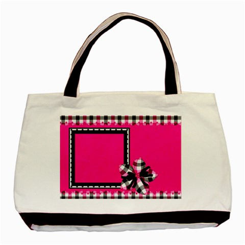 Bwp Tote 2 By Lisa Minor   Basic Tote Bag   As3t9wqj7zv2   Www Artscow Com Front