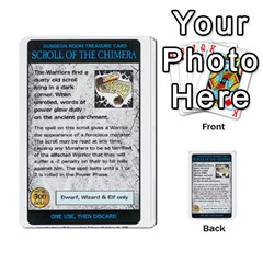 Warhammer Quest 3 By Kieren   Multi Purpose Cards (rectangle)   Ms3rzklkgu3t   Www Artscow Com Front 6