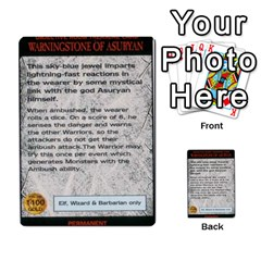 Warhammer Quest 3 By Kieren   Multi Purpose Cards (rectangle)   Ms3rzklkgu3t   Www Artscow Com Front 52