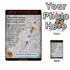 Warhammer Quest 3 By Kieren   Multi Purpose Cards (rectangle)   Ms3rzklkgu3t   Www Artscow Com Front 54