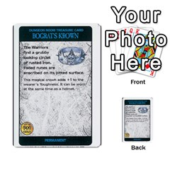Warhammer Quest 3 By Kieren   Multi Purpose Cards (rectangle)   Ms3rzklkgu3t   Www Artscow Com Front 8