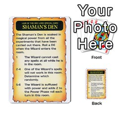 Warhammer Quest 3 By Kieren   Multi Purpose Cards (rectangle)   Ms3rzklkgu3t   Www Artscow Com Front 9