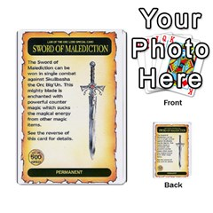 Warhammer Quest 3 By Kieren   Multi Purpose Cards (rectangle)   Ms3rzklkgu3t   Www Artscow Com Front 10