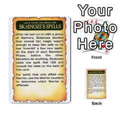 Warhammer Quest 3 By Kieren   Multi Purpose Cards (rectangle)   Ms3rzklkgu3t   Www Artscow Com Front 12