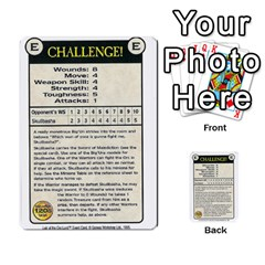 Warhammer Quest 3 By Kieren   Multi Purpose Cards (rectangle)   Ms3rzklkgu3t   Www Artscow Com Front 13