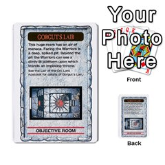 Warhammer Quest 3 By Kieren   Multi Purpose Cards (rectangle)   Ms3rzklkgu3t   Www Artscow Com Front 14