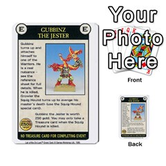 Warhammer Quest 3 By Kieren   Multi Purpose Cards (rectangle)   Ms3rzklkgu3t   Www Artscow Com Front 15