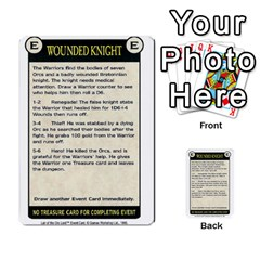 Warhammer Quest 3 By Kieren   Multi Purpose Cards (rectangle)   Ms3rzklkgu3t   Www Artscow Com Front 20