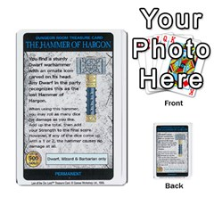 Warhammer Quest 3 By Kieren   Multi Purpose Cards (rectangle)   Ms3rzklkgu3t   Www Artscow Com Front 3
