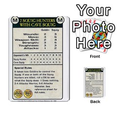 Warhammer Quest 3 By Kieren   Multi Purpose Cards (rectangle)   Ms3rzklkgu3t   Www Artscow Com Front 22