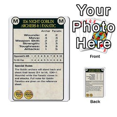 Warhammer Quest 3 By Kieren   Multi Purpose Cards (rectangle)   Ms3rzklkgu3t   Www Artscow Com Front 23