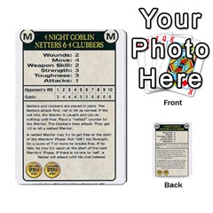Warhammer Quest 3 By Kieren   Multi Purpose Cards (rectangle)   Ms3rzklkgu3t   Www Artscow Com Front 24