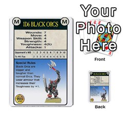 Warhammer Quest 3 By Kieren   Multi Purpose Cards (rectangle)   Ms3rzklkgu3t   Www Artscow Com Front 25