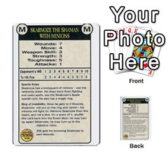 Warhammer Quest 3 By Kieren   Multi Purpose Cards (rectangle)   Ms3rzklkgu3t   Www Artscow Com Front 26