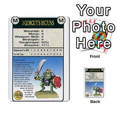 Warhammer Quest 3 By Kieren   Multi Purpose Cards (rectangle)   Ms3rzklkgu3t   Www Artscow Com Front 36