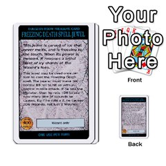 Warhammer Quest 3 By Kieren   Multi Purpose Cards (rectangle)   Ms3rzklkgu3t   Www Artscow Com Front 38