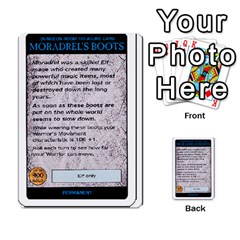 Warhammer Quest 3 By Kieren   Multi Purpose Cards (rectangle)   Ms3rzklkgu3t   Www Artscow Com Front 40